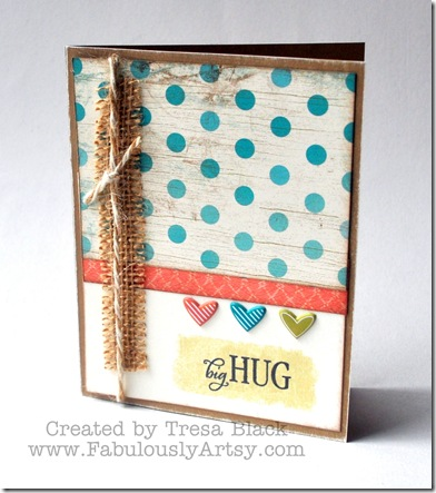 Tip: Stamping with Tape
