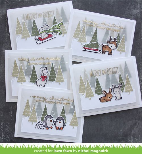 Project: Woodland Forest Holiday Cards