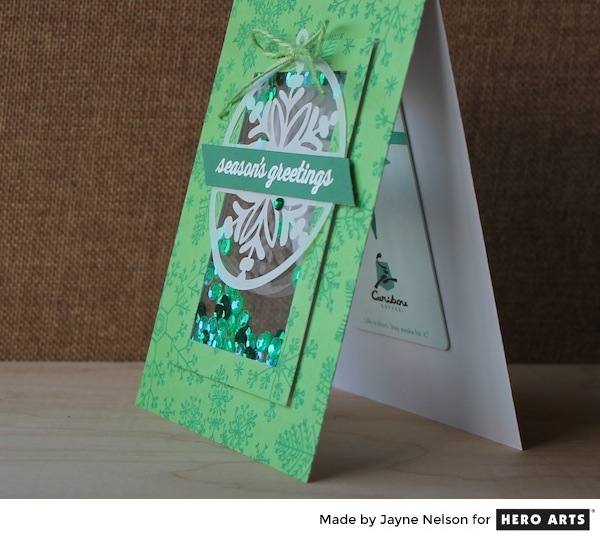 Project: Shaker Gift Card Holder