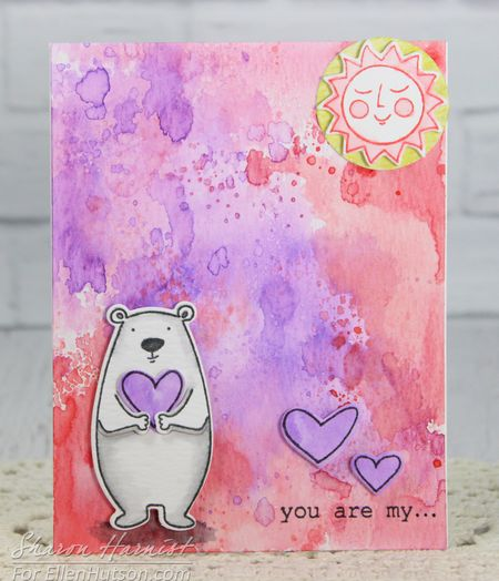 Project: You are My Sunshine Bear Card