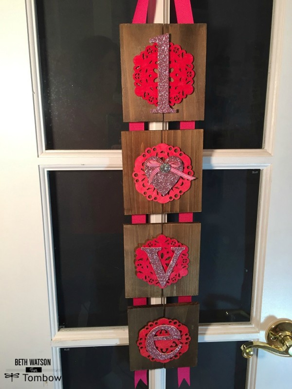 Project: Wooden Love Banner