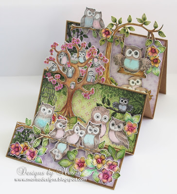 Inspiration: Owl Step Card