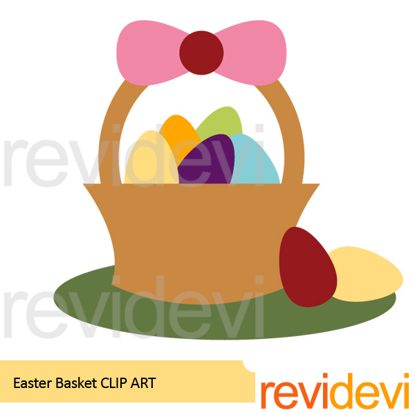 Freebie: Easter Basket Clip Art