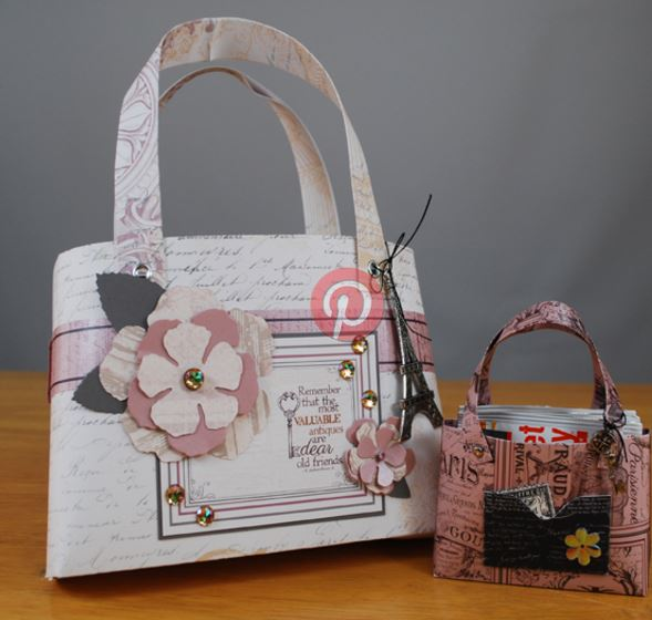 Project: Large and Small Paper Purses