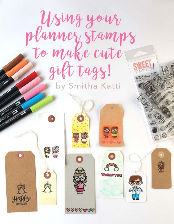 Project: Tags using Planner Stamps