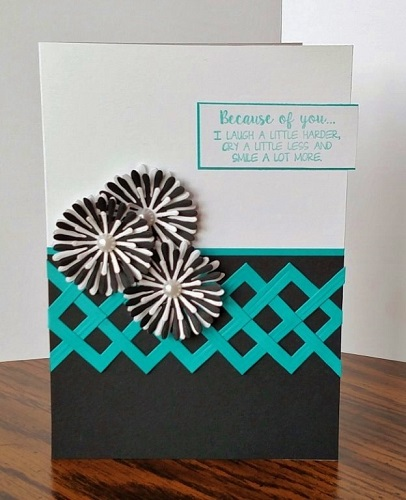 Project: Woven Squares Card