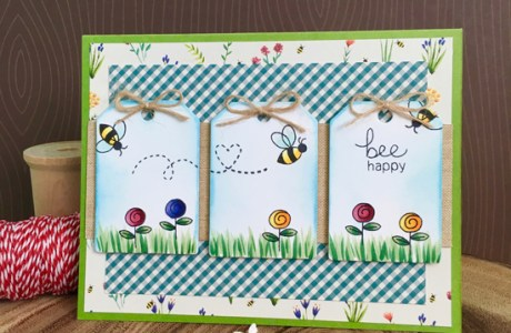 Project: Bee Tag Card