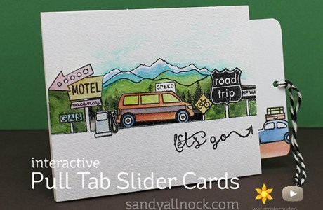 Project: Pull Tab Slider Card