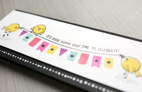 Project: Long Birthday Banner Card
