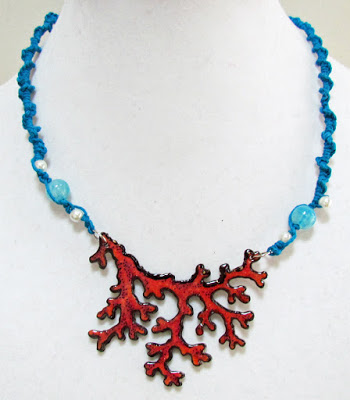 Project: Stamped Coral Necklace