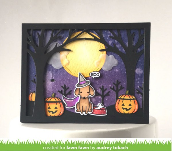 Projects: 2 Halloween Dog Cards