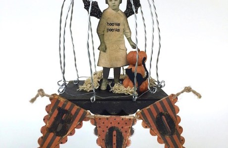 Project and Freebie: Halloween Fairy Cage