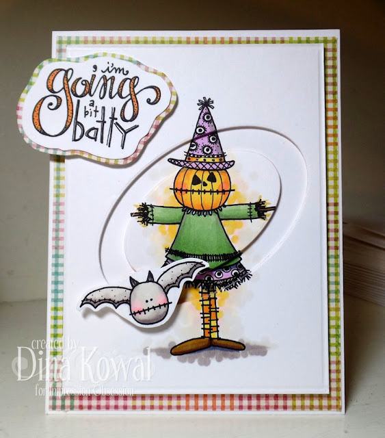 Project: Halloween Spinner Card