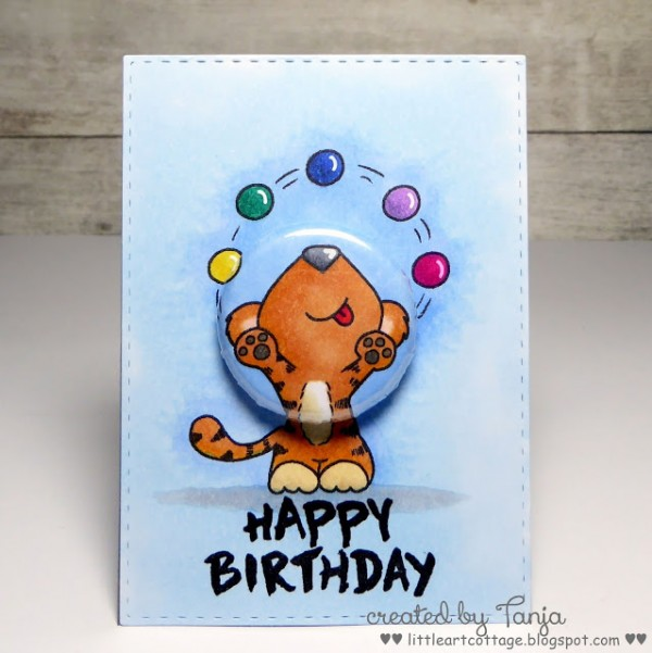 Project: Birthday Pin Card