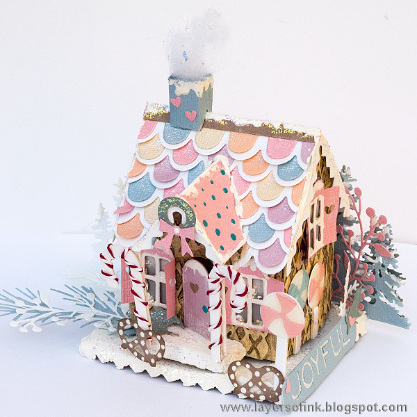 Project: Paper Gingerbread House