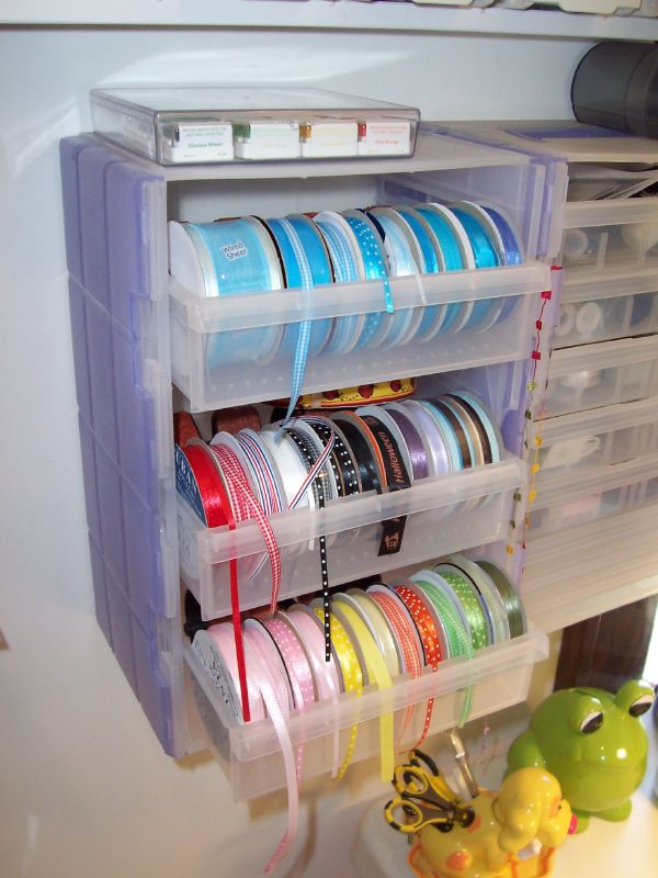 Ribbon storage containers listitdallas diy ribbon organizers you can make yourself plus one solutioingenieria Choice Image