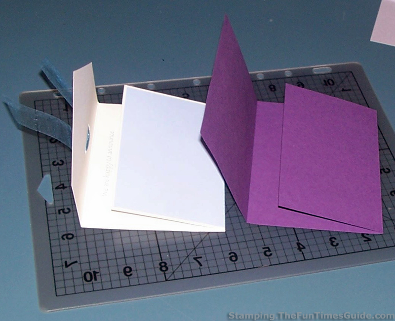 Handmade Card Idea How To Make A Unique Tri-Fold Card The - Tri Fold Card