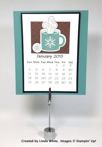 12 Month Calendar  FREE PDF! Stampin\u0027 Pretty