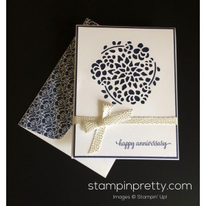 Alluring Stampin Up Window Box Anniversary Card Mary Fish Stampinup Anniversary Card Ideas Girlfriend Anniversary Card Ideas Wife
