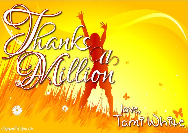 thanks a million-tami white-stampin up