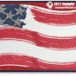 VIDEO: Work of Art – American Flag Card