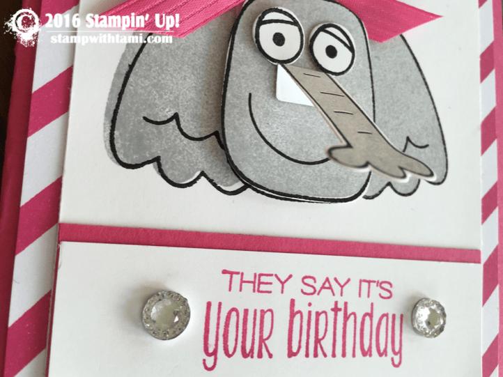 stampin up playful pals elephant card 1