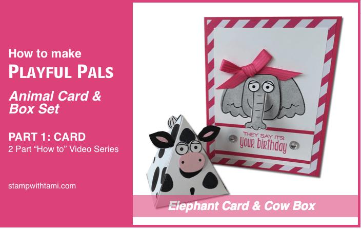 stampin up playful plas part 1 card