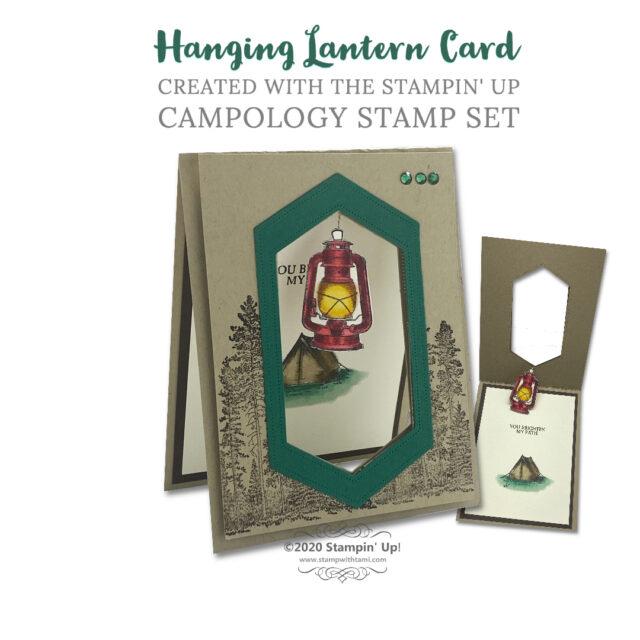 Hanging Camp Lantern Cards