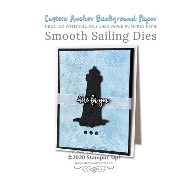 Silhouette Cards & Custom Background Paper Dies