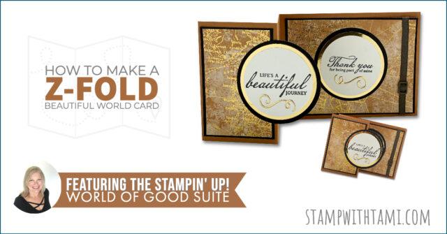 Z-FOLD BEAUTIFUL WORLD CARD