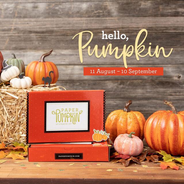 August 2020 Paper Pumpkin World's Greatest Card Kits