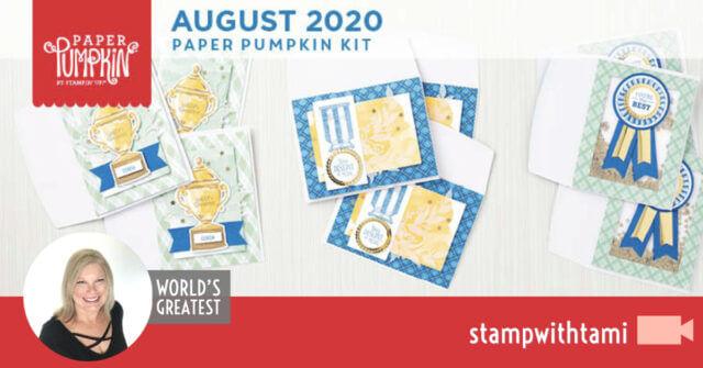 August 2020 World's Greatest Card Kit