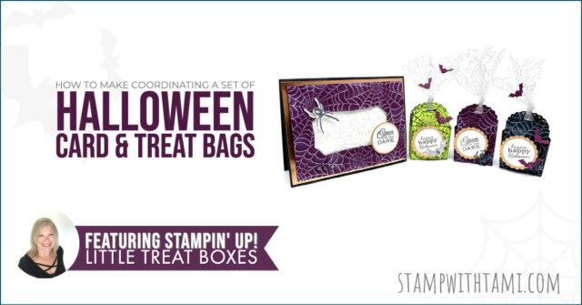 Halloween Card & Treat Boxes