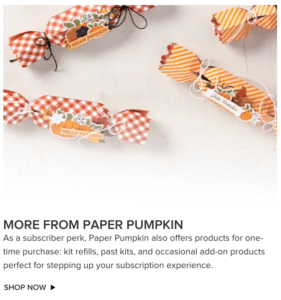 more from paper pumpkin