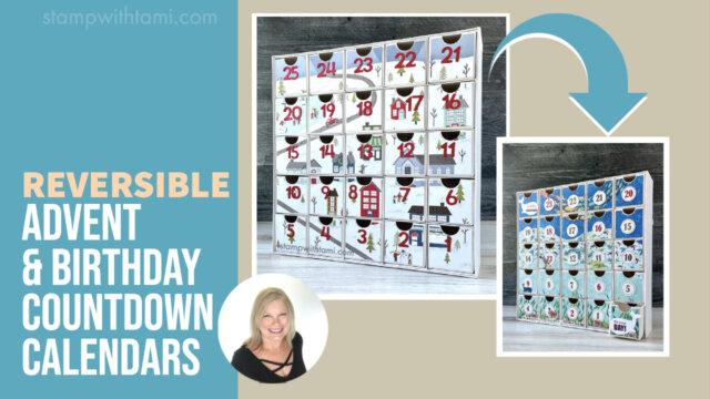 Reversible Countdown Calendars