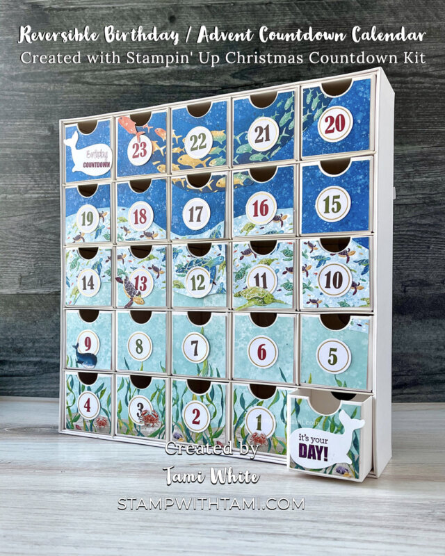 Reversible birthday Calendars