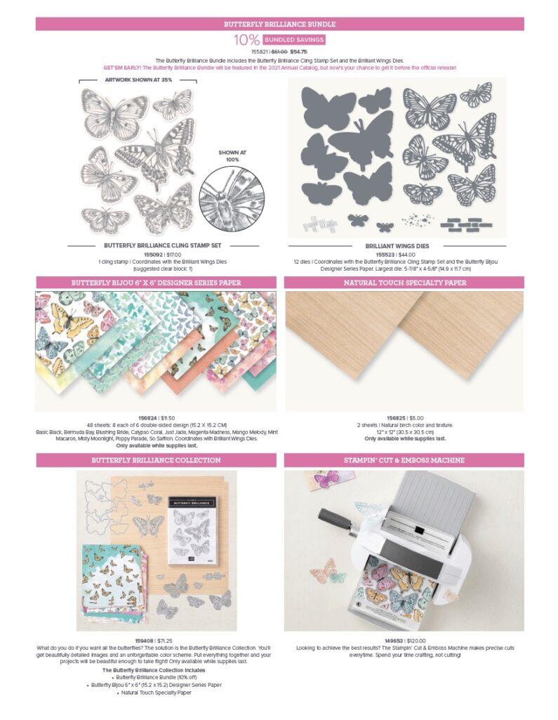 Butterfly Bouquet Bundle Pre-Order dates