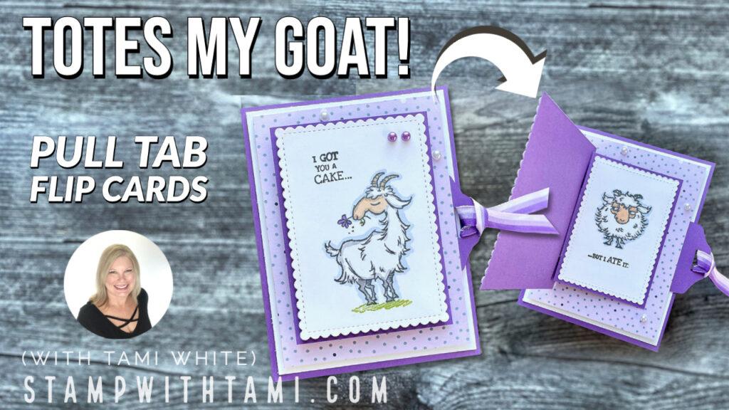 Flippin Goat Card
