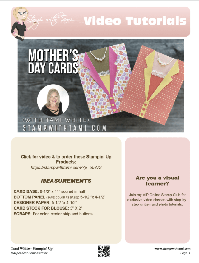 Mother's Day Cards pdf