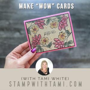 Make an Easel Keyhole Card Video