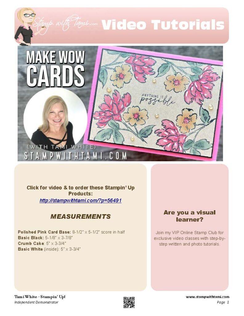 How To Make WOW Card pdf