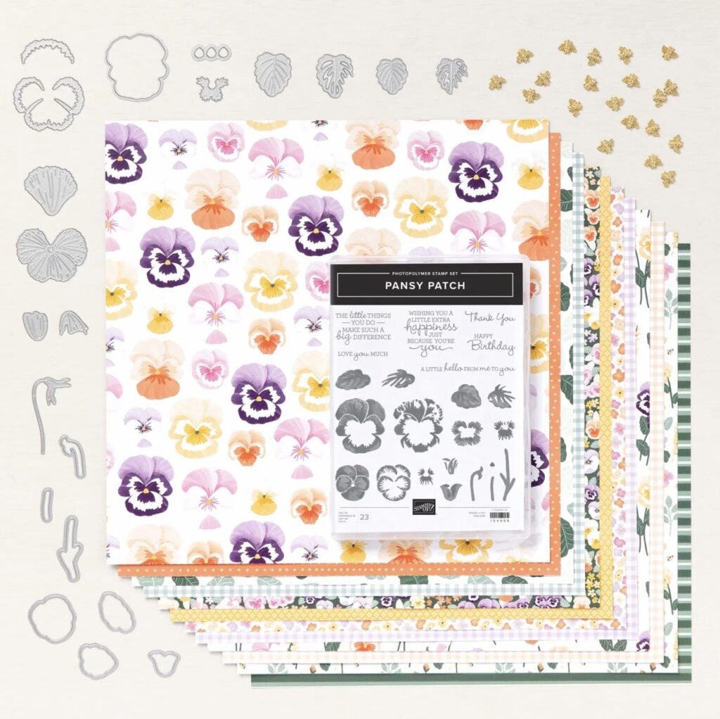 Pansy Patch Gift Bag Tutorial Photo
