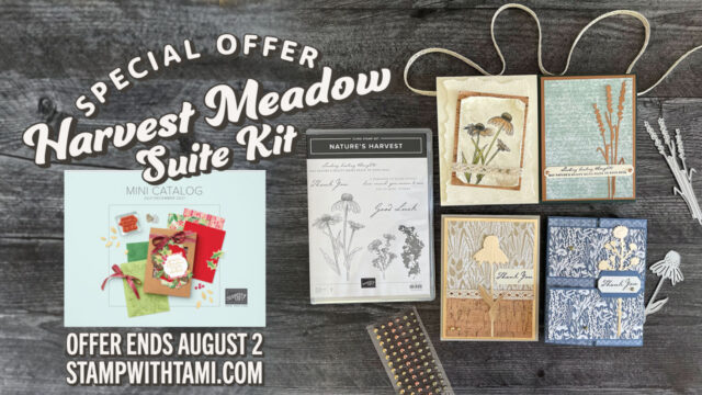Stampin Up Harvest Meadow Suite