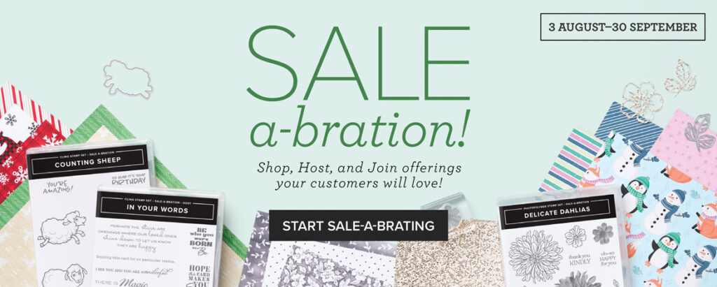 Stampin' Up Sale-a-bration 2021