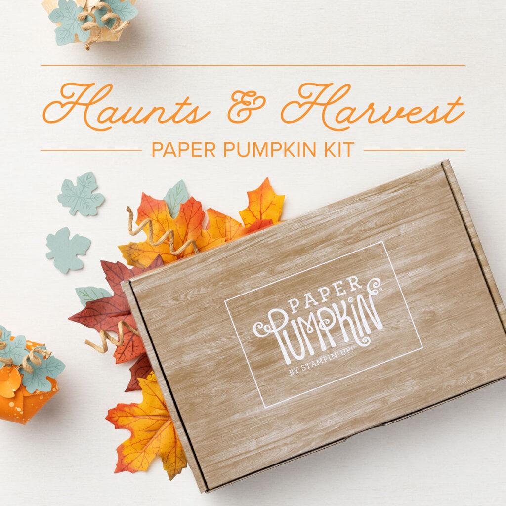 September 2021 Paper Pumpkin Kit