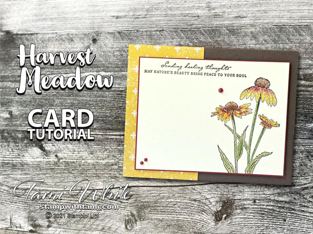 Harvest Meadow Card Tutorial