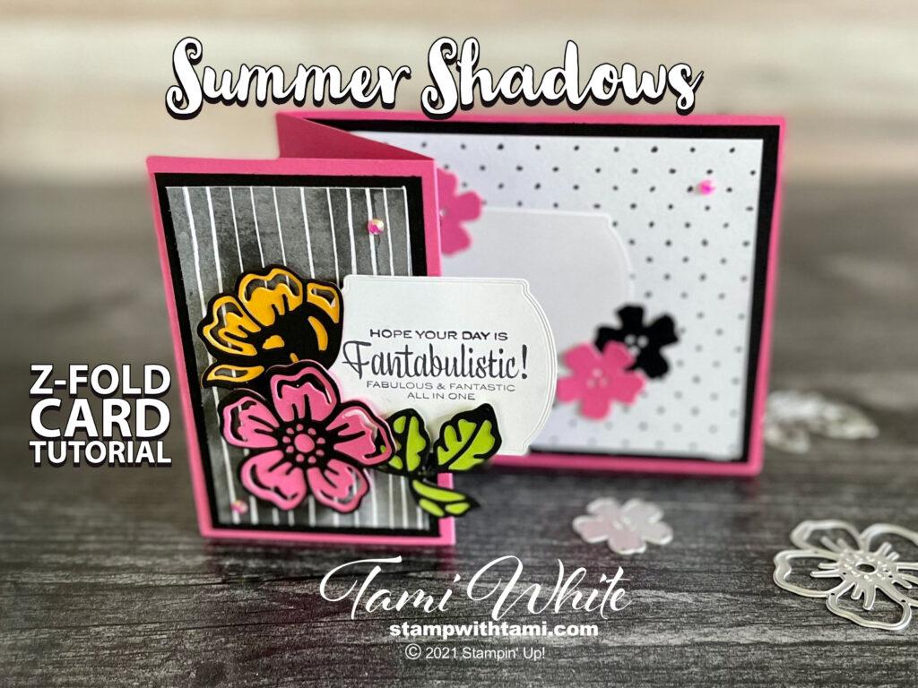 Fantabulistic Z-Fold Card Tutorial