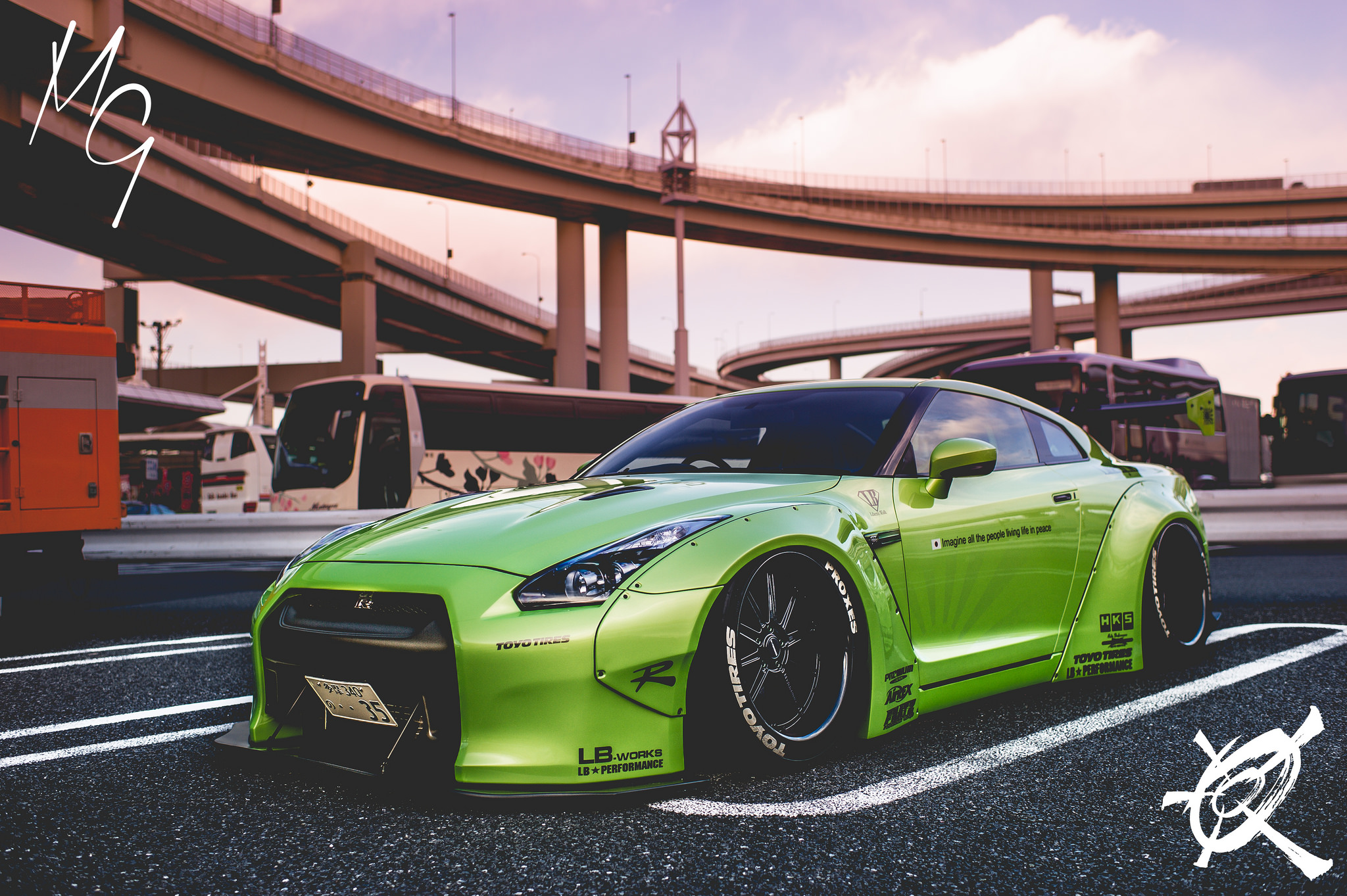 Garage Auto Nation Green Monster Stancenation Form Gt Function