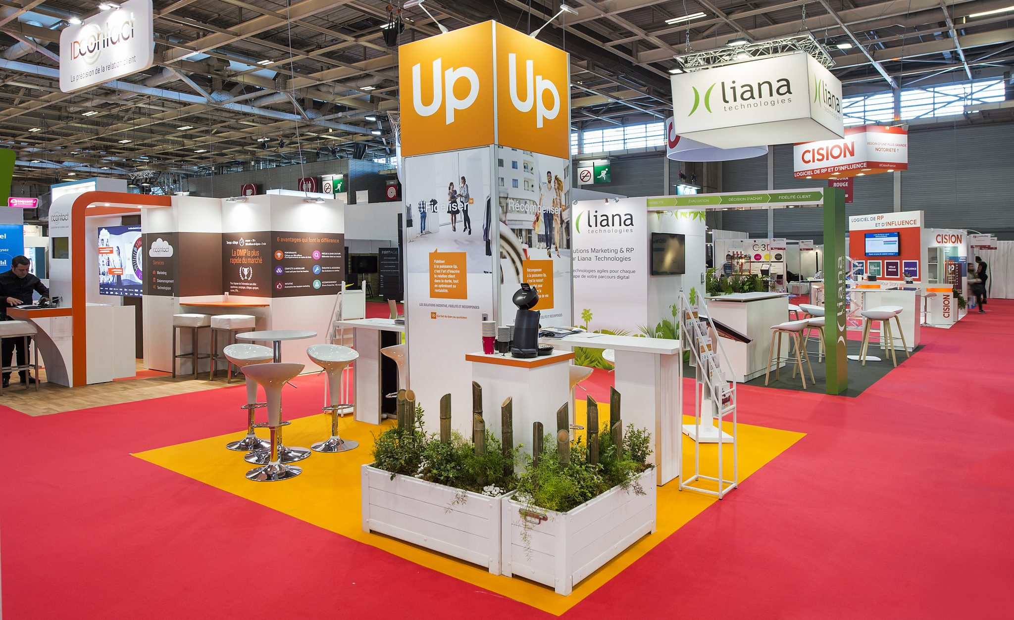 E Marketing Salon Stand Groupe Up 36m² Salon E Marketing 2017 Stand 2b