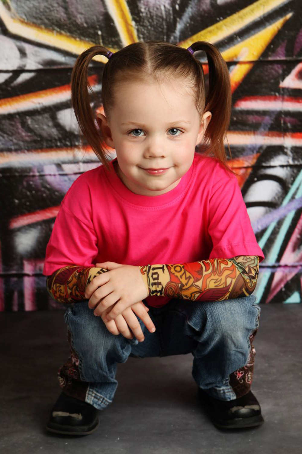 Toddler Fake Babies Mum Designs Fake Tattoo Sleeves For Alternative Babies And